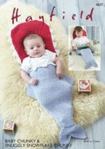 Hayfield Baby Chunky - 4837 Baby Sleeping Bag Knitting Pattern